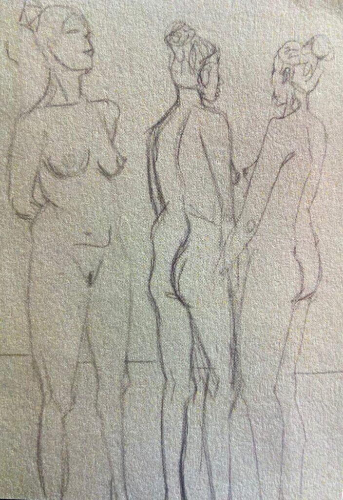 Lidija Burcak Zeichnungen